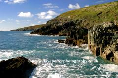 The Coastline at Porth Clais, Pembrokeshire