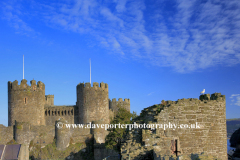 The Castle Walls of Conwy Castle