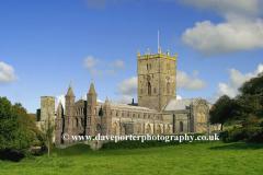 St David's Cathedral, St David's City, Pembrokeshire