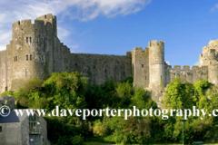 Pembroke castle, Pembroke town
