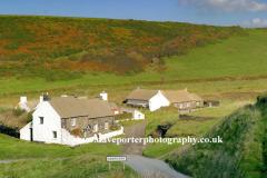 Cottages at Aberiddy village, Pembrokeshire