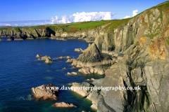 Coastline St Nons Bay, Pembrokeshire