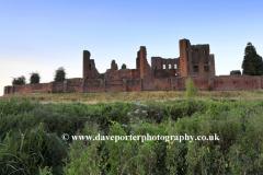 Dusk view, Kenilworth Castle