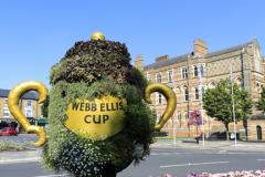 Webb Ellis Cup, Rugby School, Rugby town