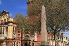 War memorial and Town hall, Royal Leamington Spa