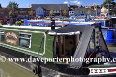 Narrowboats, Bancroft Gardens, Stratford upon Avon