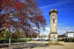 Memorial in Jephson gardens, Leamington Spa