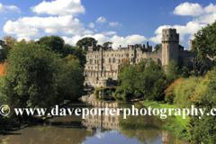 Summer, River Avon and Warwick Castle