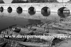 Rowing boats, river Avon, Stratford-upon-Avon
