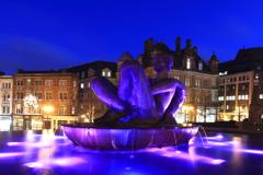 Water fountains, Victoria Square, Birmingham