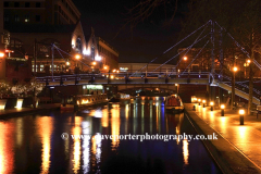 Brindley Place, Worcester and Birmingham Canal