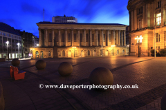 The Town Hall building, Victoria Square, Birmingham