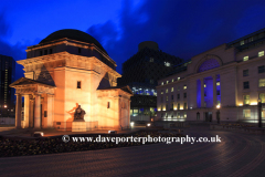 The Hall of Memory, Centenary Square, Birmingham