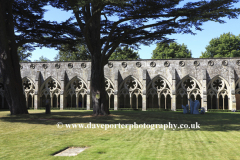 The Cloisters of Salisbury Cathedral