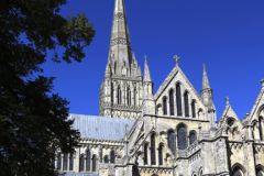 The 13th Century Salisbury Cathedral