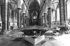 The Font in Salisbury Cathedral