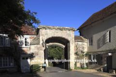 The Harnham Gate, De Vaux Place, Salisbury