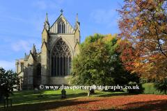 Autumn colours; Ripon Cathedral; Ripon town