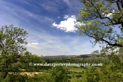 Summer, View over West Burton village, Wensleydale