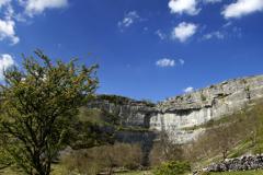 Malham Cove limestone cliffs, Malhamdale