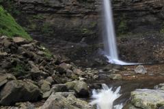 Hardraw Force waterfall, River Ure, Hardraw village
