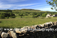 West Witton Moor overlooking West Witton village