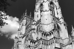 The West front of York Minster Cathedral