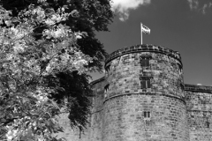 Skipton Castle in the town of Skipton