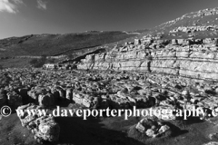 Malham Cove, limestone cliffs, Malhamdale