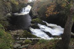 Beezley Falls, river Doe, Ingleton Waterfalls Trail
