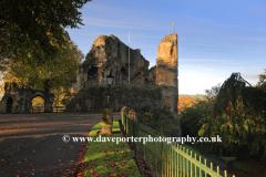 Autumn colours, Knaresborough Castle