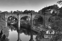 Railway viaduct over the river Nidd, Knaresborough
