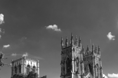 The West front, Elevation of York Minster Cathedral