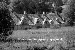 Arlington Row Cottages, Bibury village