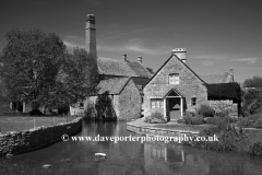 The Old Watermill, river Windrush, Lower Slaughter village