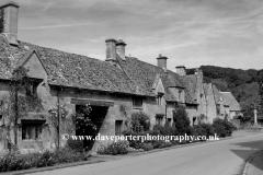 Cottages, Stanton village, Gloucestershire, England, UK