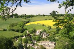 Naunton village, Gloucestershire, Cotswolds, England