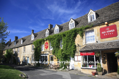 Street Scene, Stow on the Wold, Gloucestershire Cotswolds, England, UK