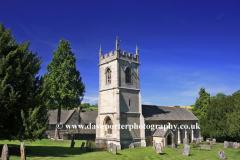 St Marys Church, Bibury village