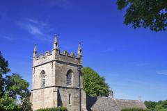 St Peter's Church, Upper Slaughter village