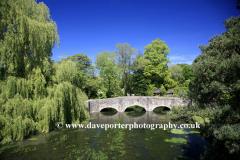 Bridge over the River Coln, Bibury village