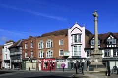 High Street of Tewkesbury town