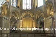 Interior, of Tewkesbury Abbey Church
