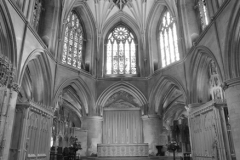 Interior of Tewkesbury Abbey Church of St. Mary