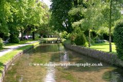 River Windrush, Lower Slaughter village