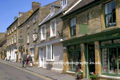 Shops and street scene, Winchcombe village
