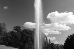 Water fountain, Stanway House and gardens
