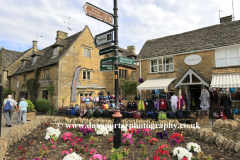 Street view at Bourton on the Water village