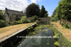 The River Leach, Northleach town