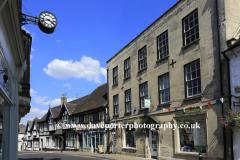 Street scene at Winchcombe town
